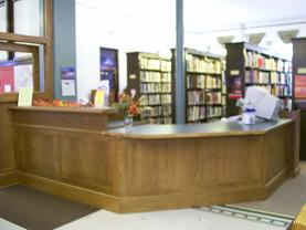 Come see our new circulation desk!